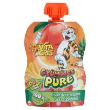 Sió vitatigris 100% gyümölcspüré mango 90 g