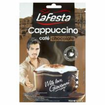 La Festa Cappucino csokoládéízű instant kávéitalpor utántöltő 100 g