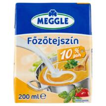 Meggle UHT félzsíros főzőtejszín 10% 200 ml