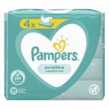 Pampers Sensitive törlőkendő 4*52 db