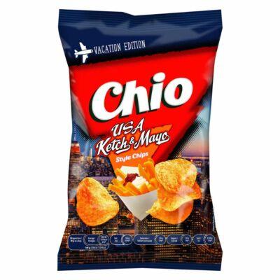 Chio Holiday USA Ketchup&Mayo ízű chips 55gr