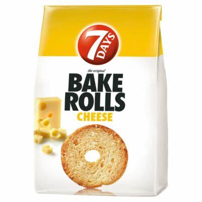 7DAYS Bake Rolls sajtos kétszersült 80 g