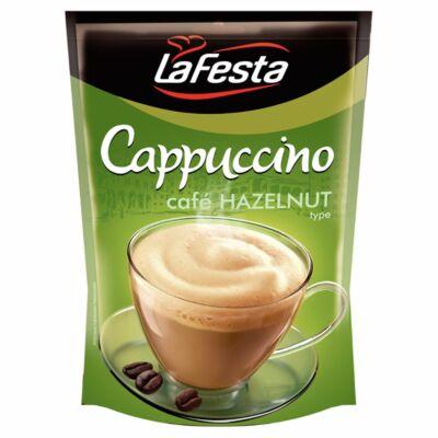 La Festa Cappucino mogyoróízű instant kávéitalpor utántöltő 100 g