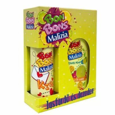 Malizia díszdoboz Bon Bon Lime tusfürdő és deo spray