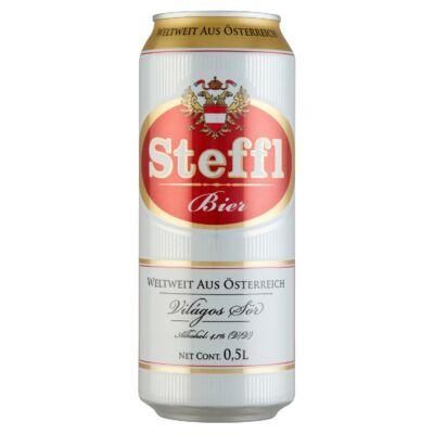 1Steffl világos sör 4,1% 0,5 l doboz