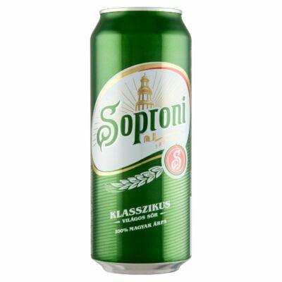 Soproni 0,5 l