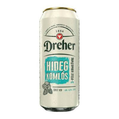 Dreher hidegkomlós 0,5 l
