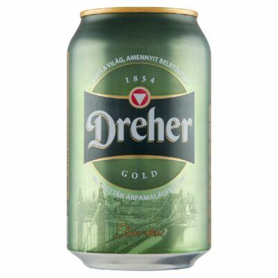 Dreher Gold 0,33 l