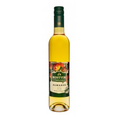 Kontyos gyümölcsbor alma 12% 0,5 l