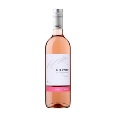 Hilltop merlot rose 0,75 l
