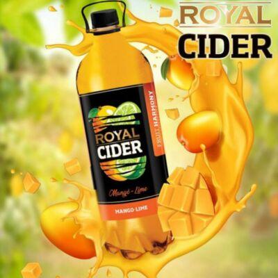 Royal Cider mangó-lime 1 l