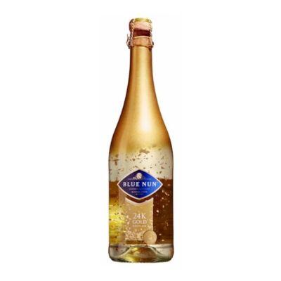 Blue Nun Gold pezsgő 24 karátos arannyal édes 11% 0,75 l