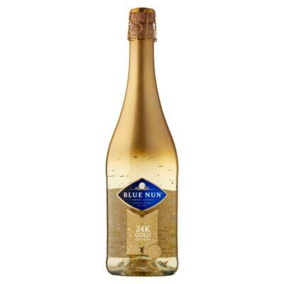 Blue Nun Gold pezsgő 24 karátos arannyal száraz rose 11% 0,75 l