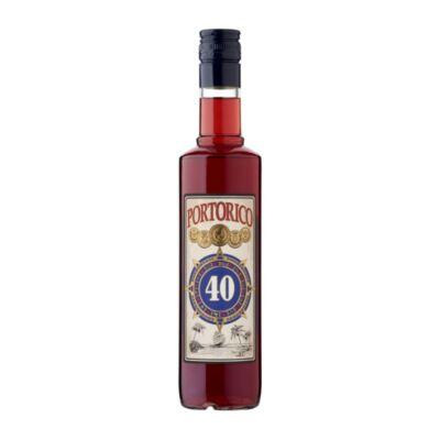 Portoricoi rum 40% 0,5 l