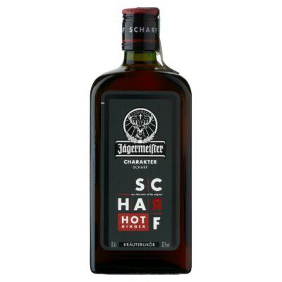 Jägermeister Scharf gyógynövény likőr 33% 0,5 l